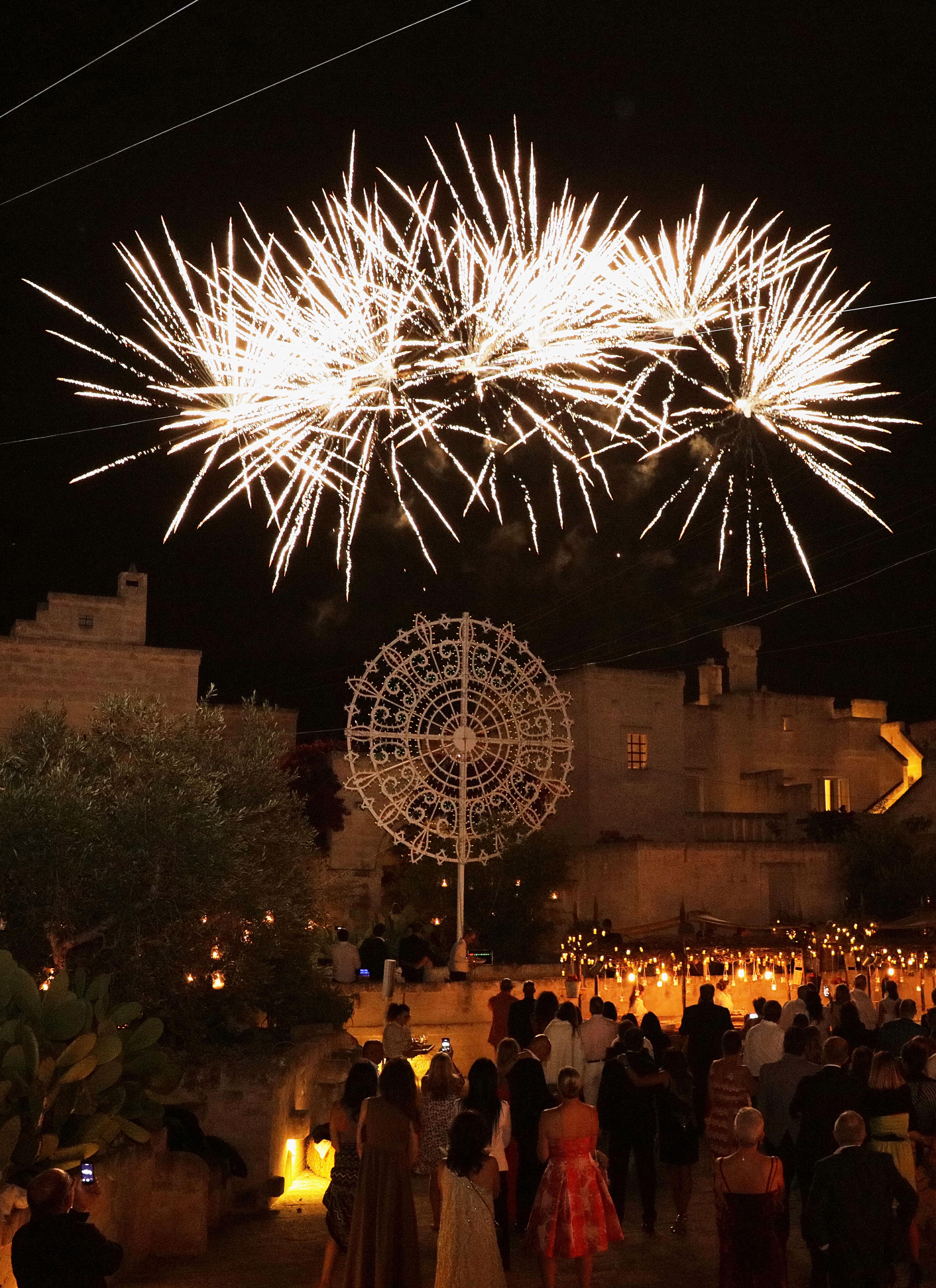 Azimut Gala Party Fireworks