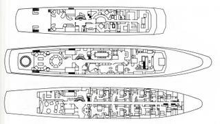 Trump Princess: The lavish interiors of Donald Trump's superyacht