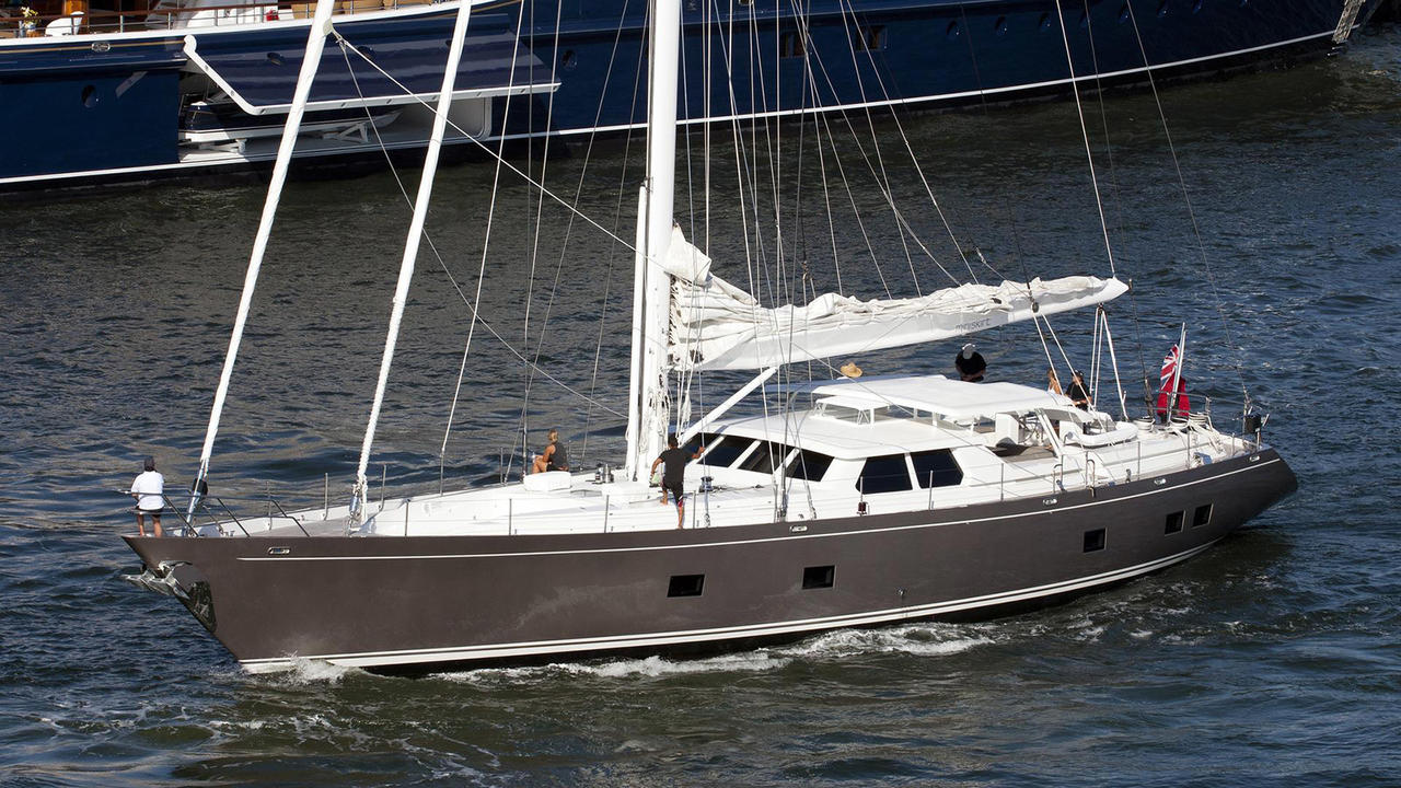 windship sailing yacht miniskirt sold