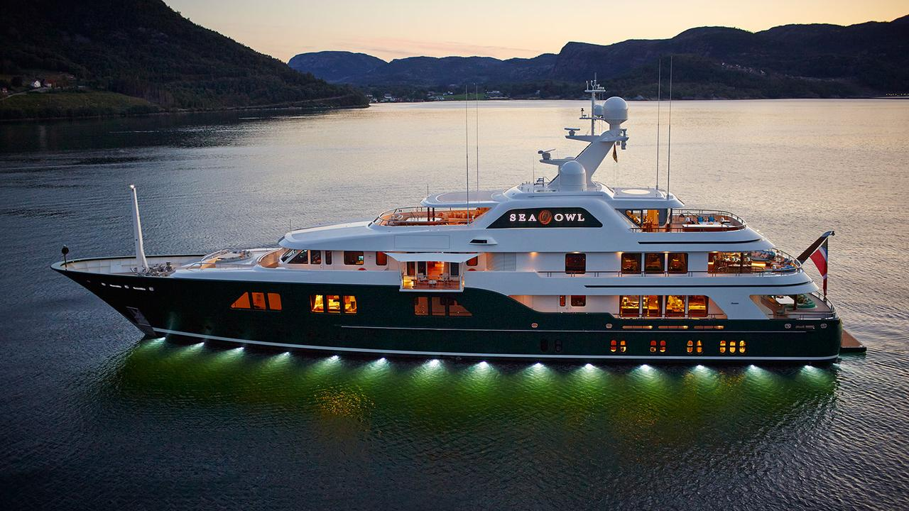 Sea Owl The Highly Complex Custom 62m Feadship Captures Yachting S True Magic Boat