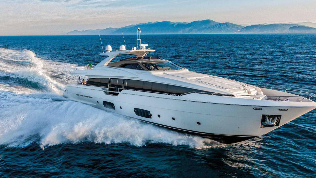 the latest c8942 295d7 New Ferretti 960 motor yacht sold | Boat International
