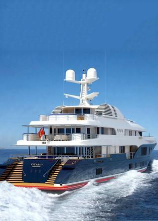 Superyacht Sherakhan 6995m 2296 Built In 1966 Netherlands