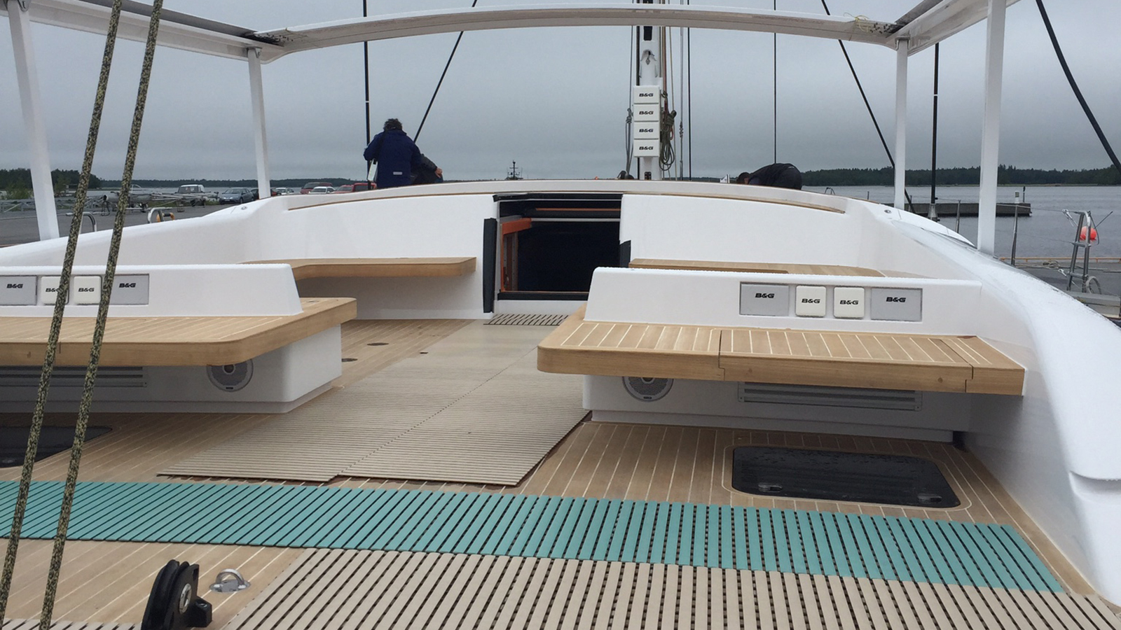 Swan 115 Yacht launch