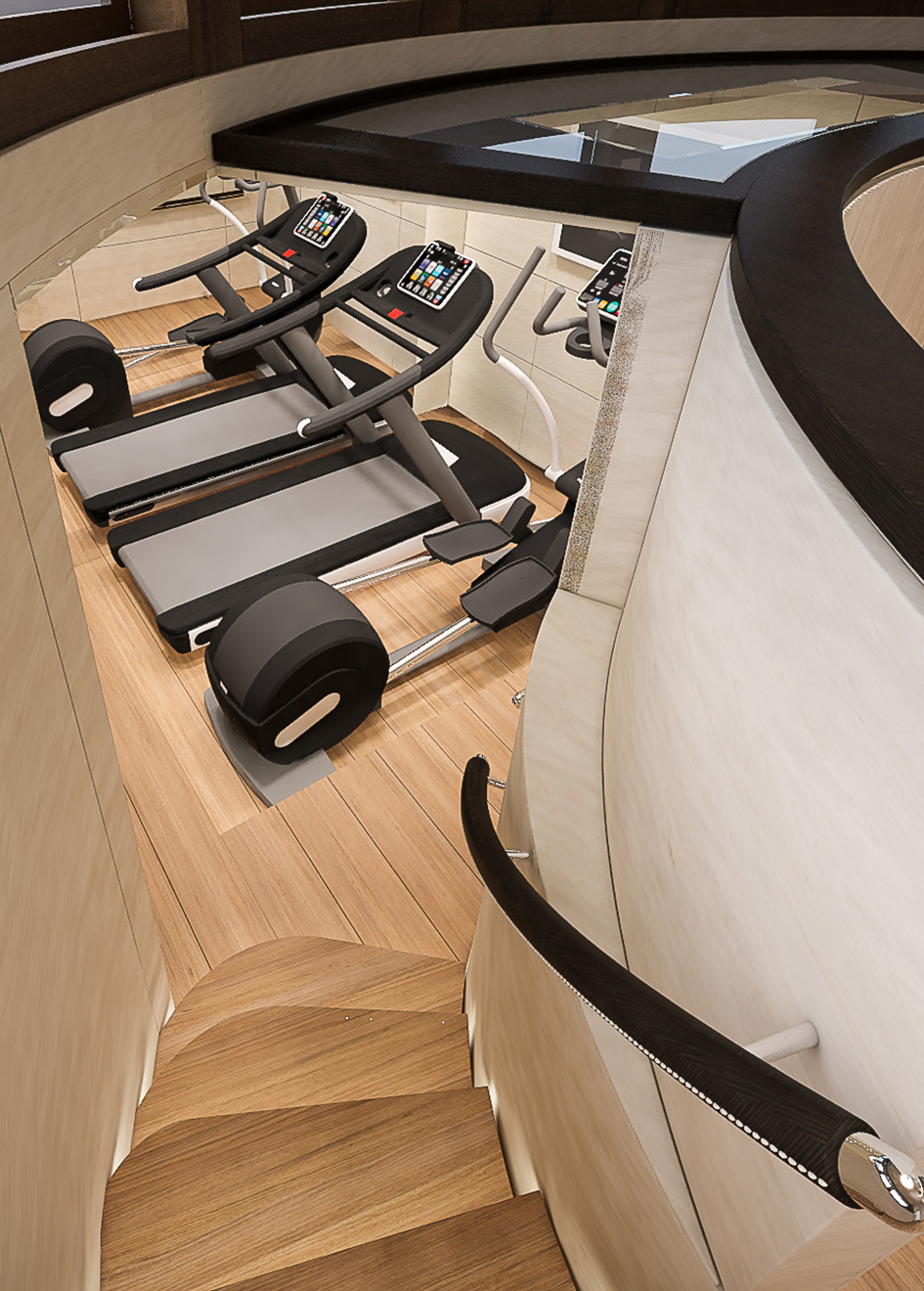 space-below-decks-on-the-filippetti-navetta-26-super-yacht-has-been-dedicated-to-a-gym