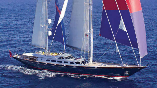 andromeda la dea luxury superyacht sailing