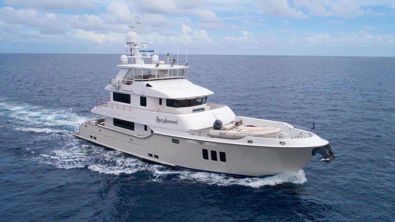 Nordhavn explorer yacht Rest Assured sold   Boat International