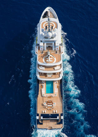 Landing Luna: The story of the 115m explorer yacht's €50m