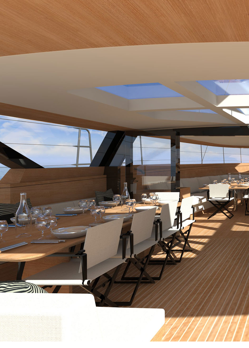 the-dining-area-of-the-wally-145-sailing-yacht