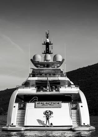 Galactica Super Nova Is One Of The First Superyachts Fitted With 4K Ultra HD Screens Throughout