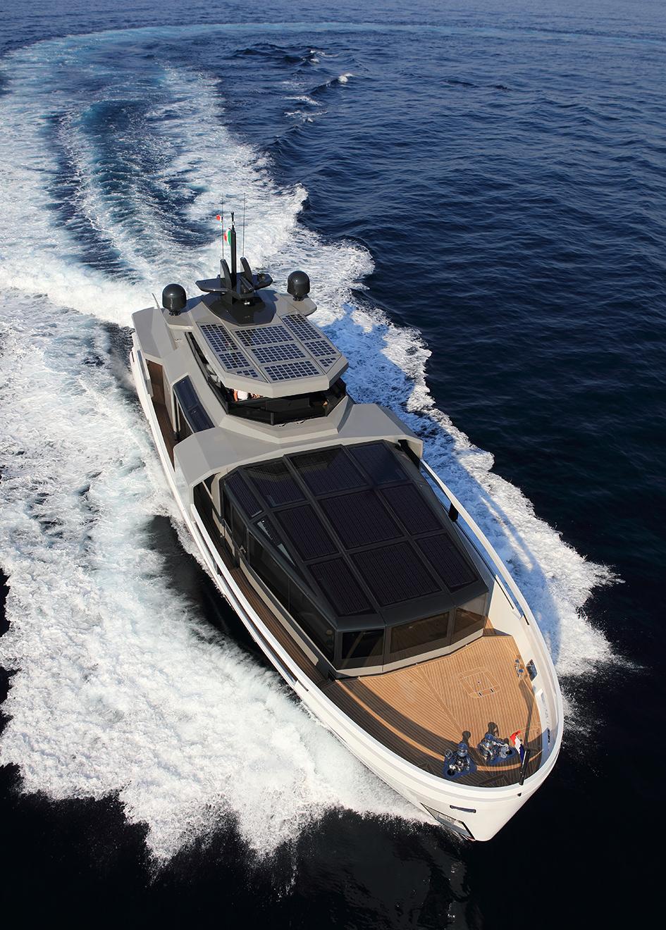 bow-running-shot-of-the-arcadia-100-yacht-aria-s