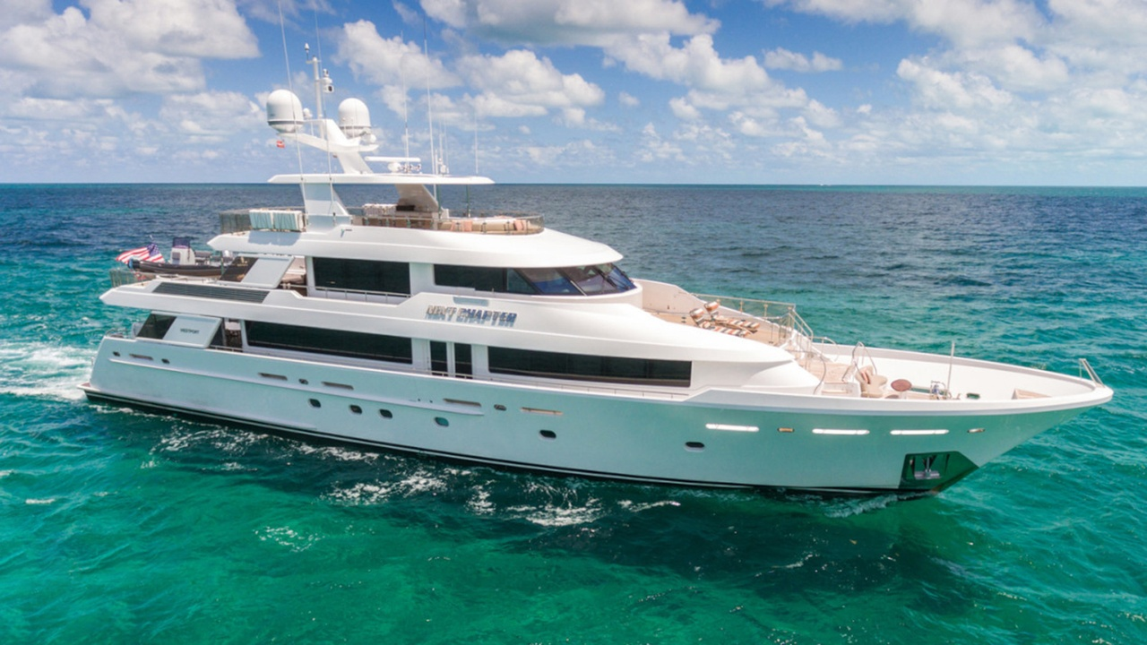 Westport motor yacht Next Chapter for sale | Boat International
