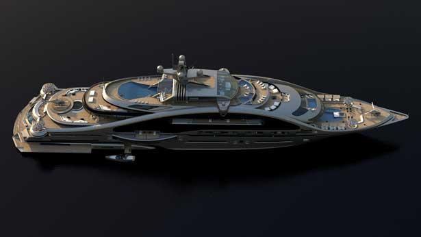 Laraki Yacht Design Pens Modular 163m Superyacht Concept Prelude