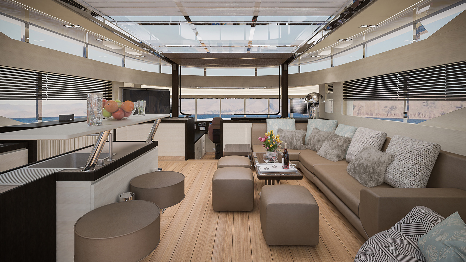 the-upper-deck-on-the-filippetti-navetta-26-super-yacht-features-a-skylounge-area