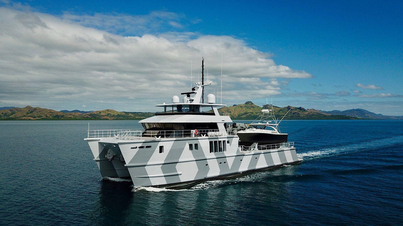 The Beast Superyacht: On Board the 39 Metre Explorer Catamaran | Boat International