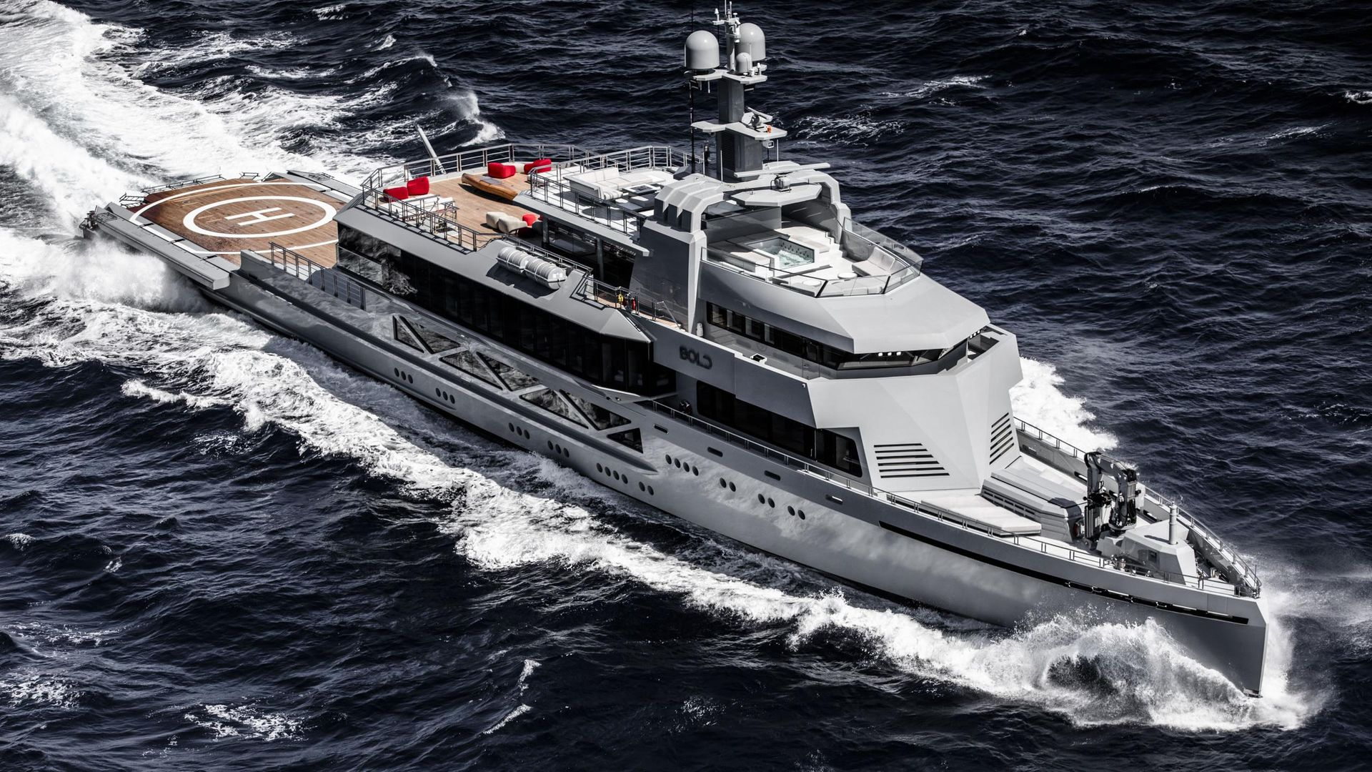 BOLD yacht for charter (SilverYachts, 85.3m, 2019)   Boat ...