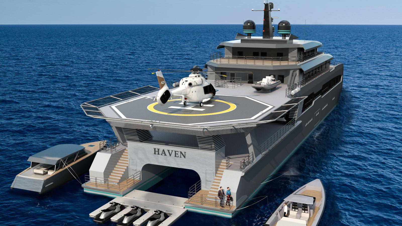 Haven superyacht