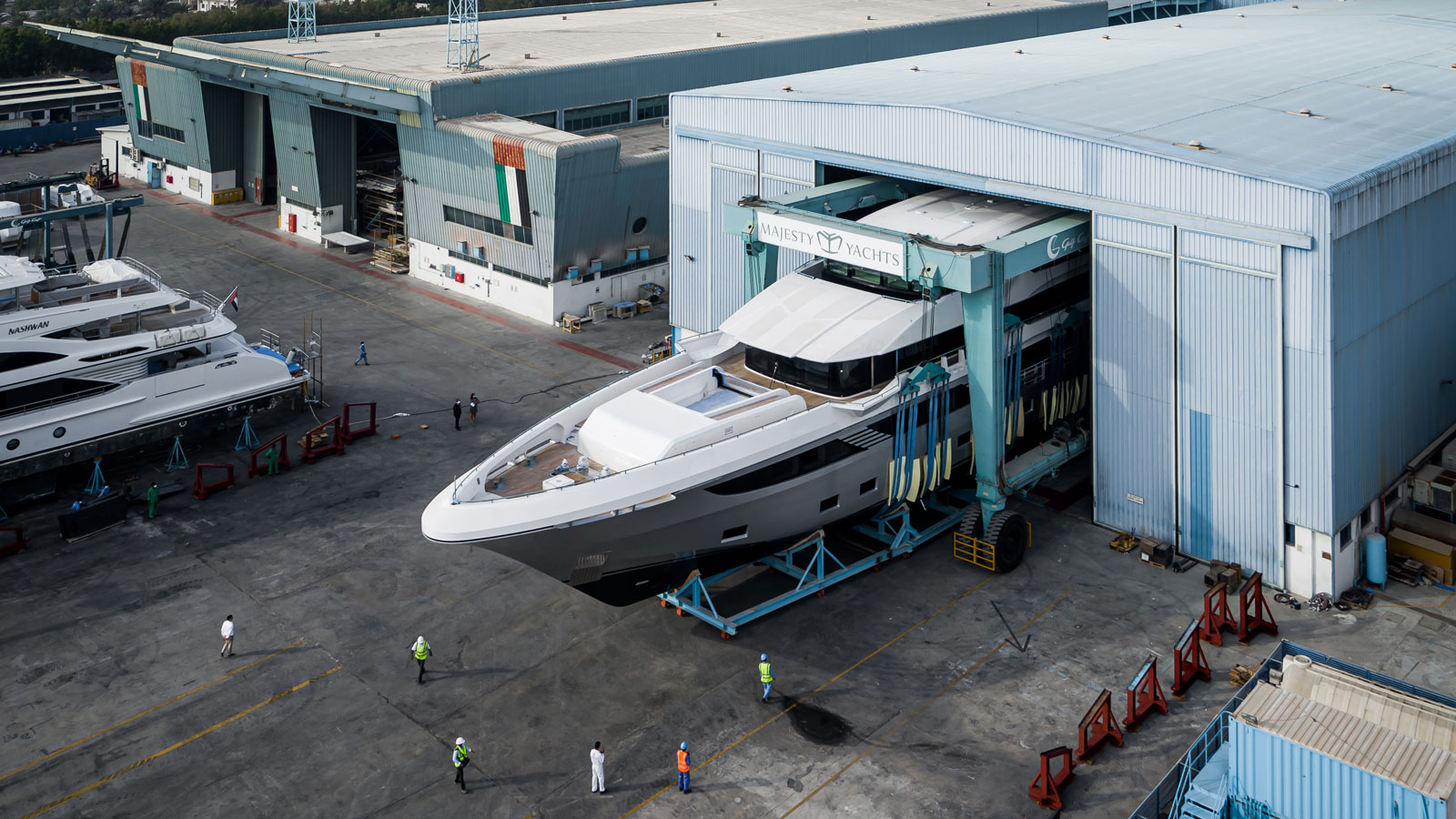 the-majesty-175-flagship-yacht-will-be-launched-by-gulf-craft-in-early-summer-2019