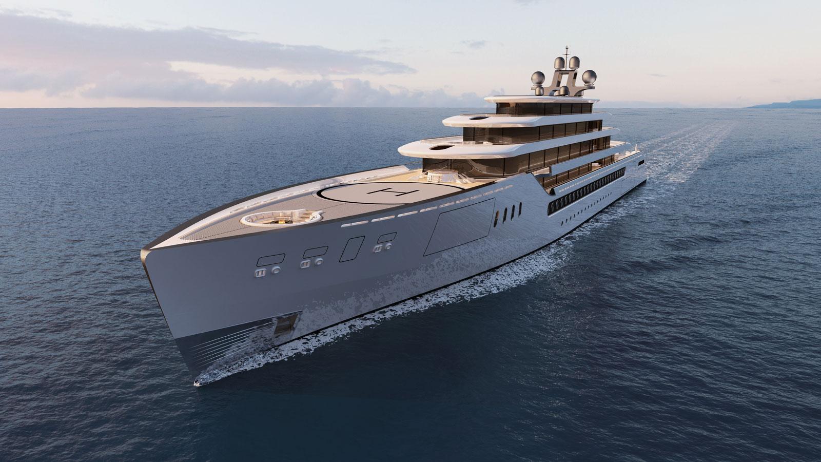 ONE 50 superyacht concept