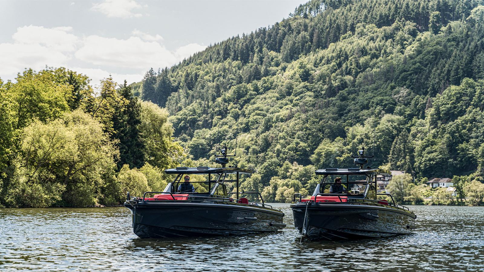 BRABUS Marine Shadow Black Ops dayboats