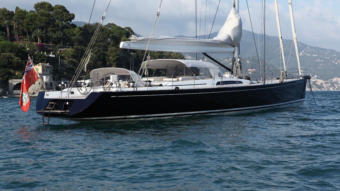 cape-arrow-yacht-at-anchor