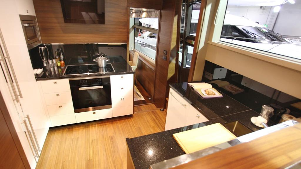 princess-88-yacht-galley