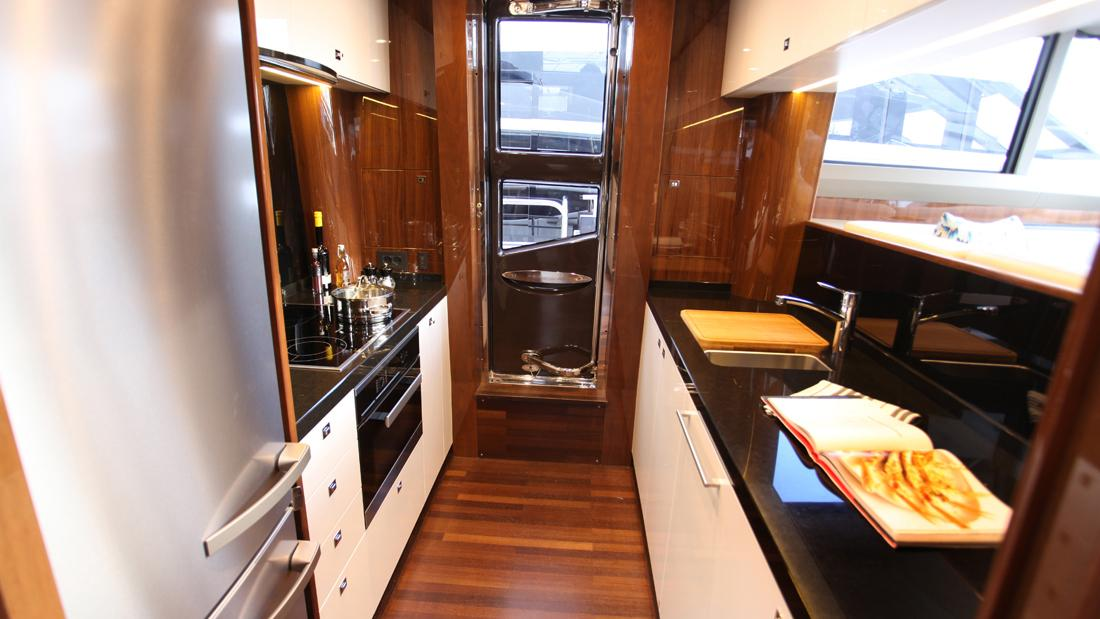 princess-82-yacht-galley