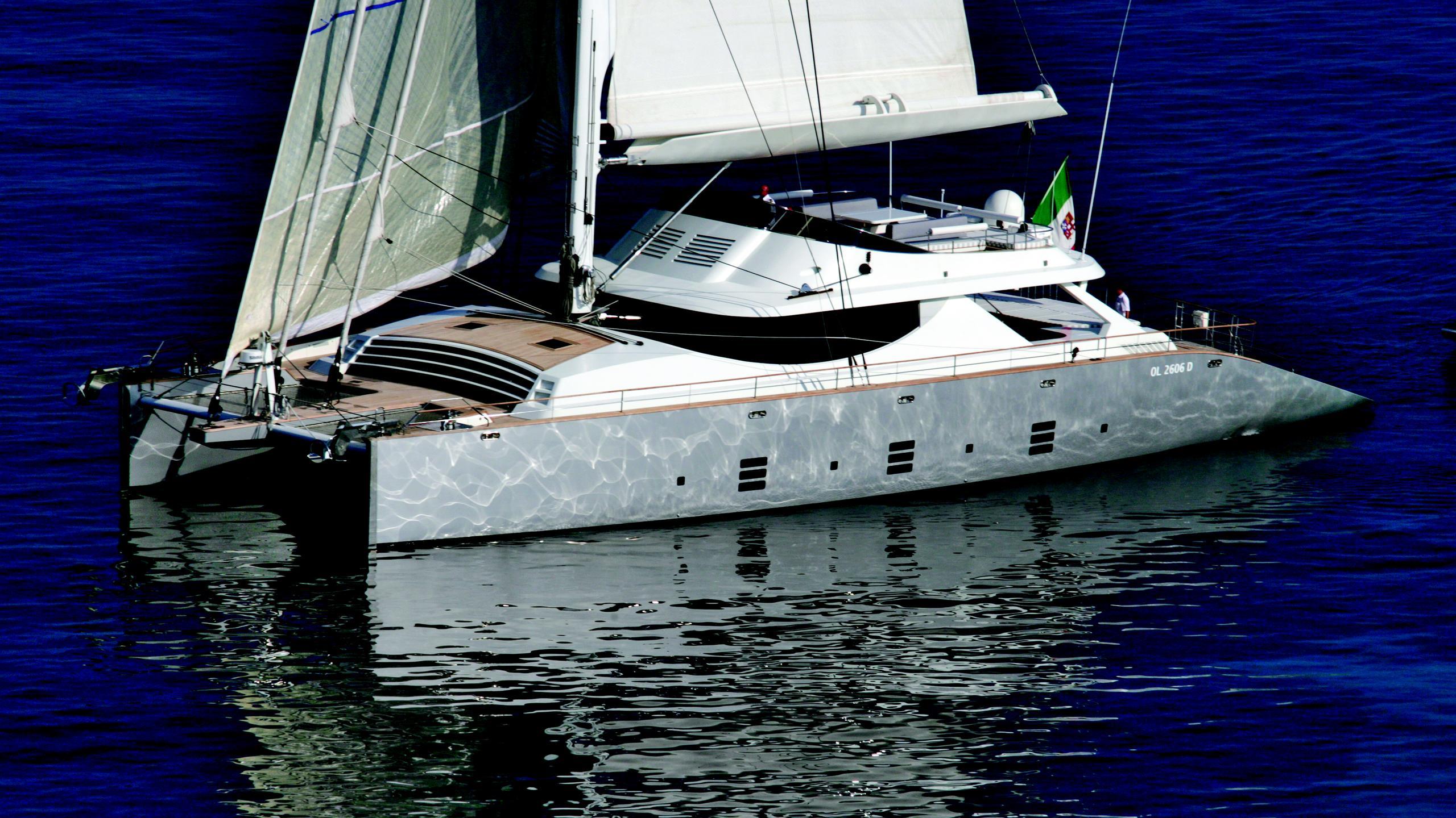 La-Sella-del-Diavolo-yact-at-anchor