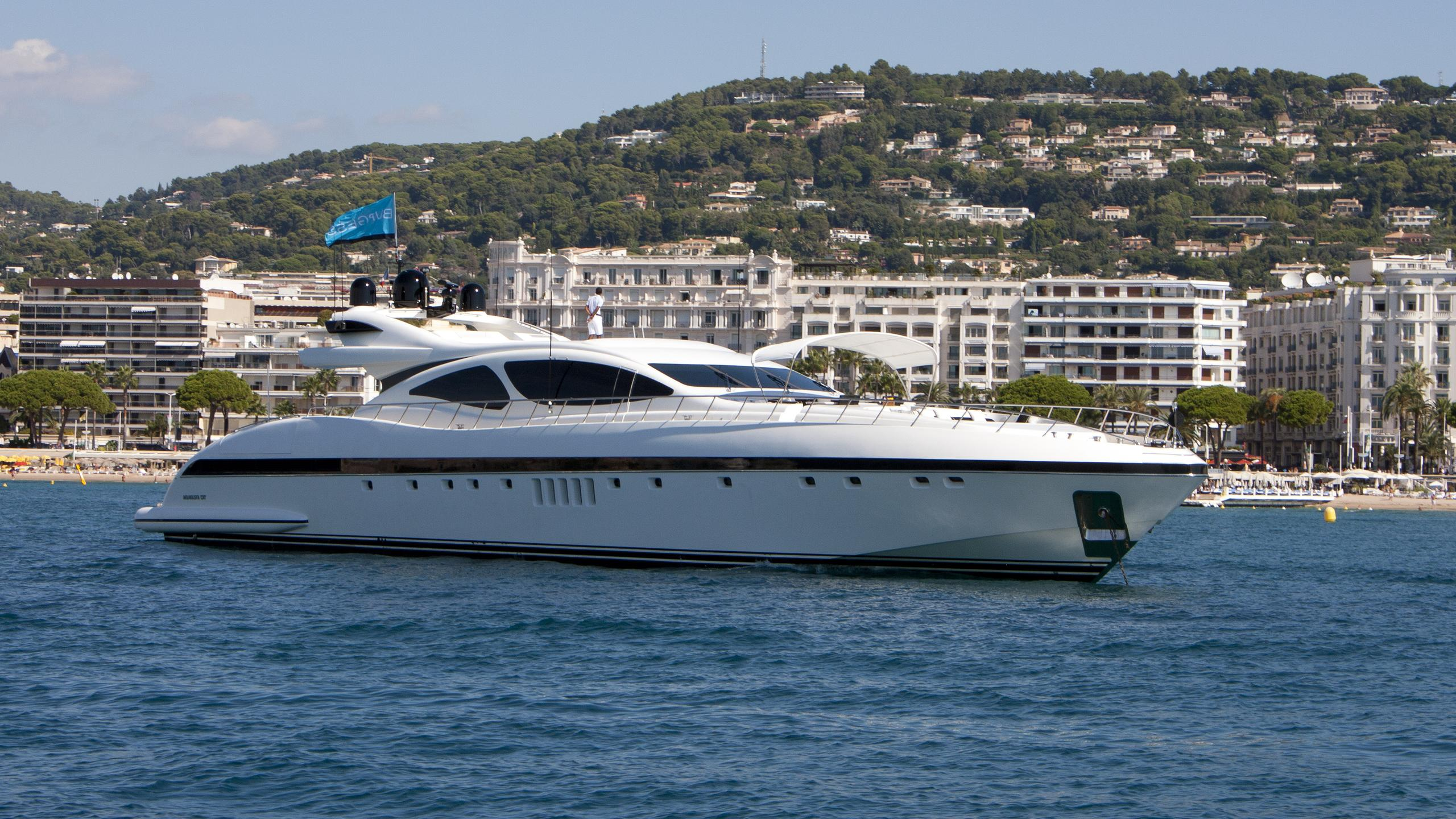 shane ability salvaje motoryacht overmarine 33m 2004 half profile