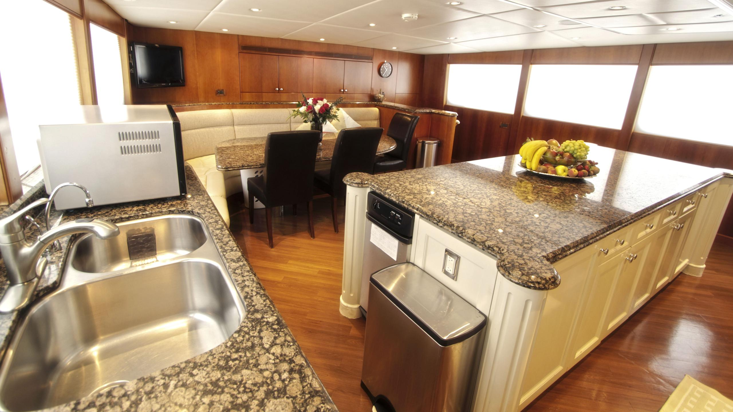sea-jewel-bravo-yacht-galley
