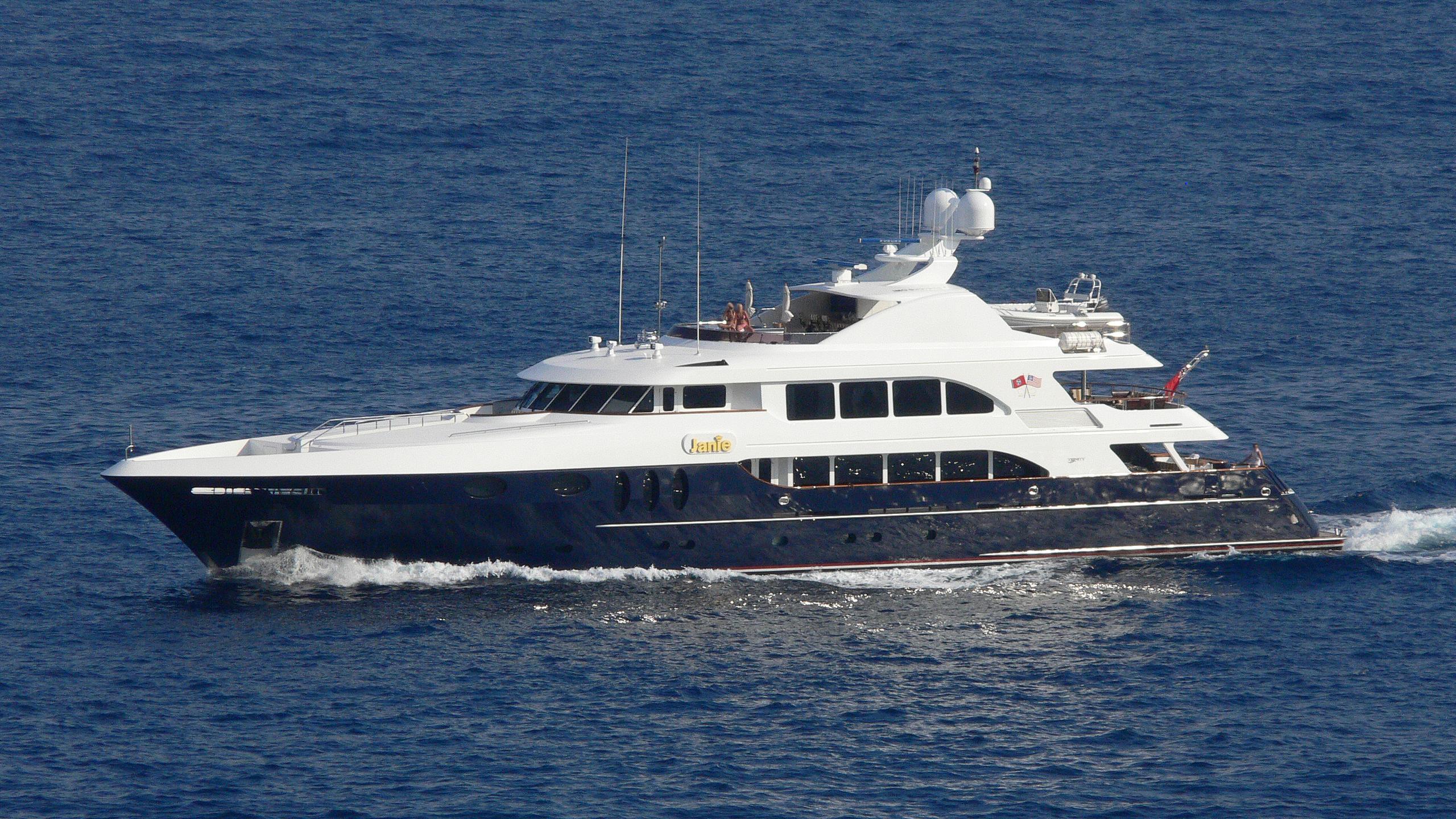 alessandra cocktails motoryacht trinity yachts 48m 2004 profile