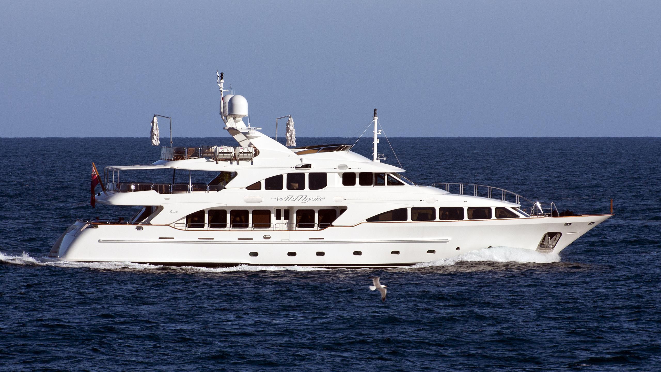 aura wild thyme motoryacht benetti 37m 2006 profile