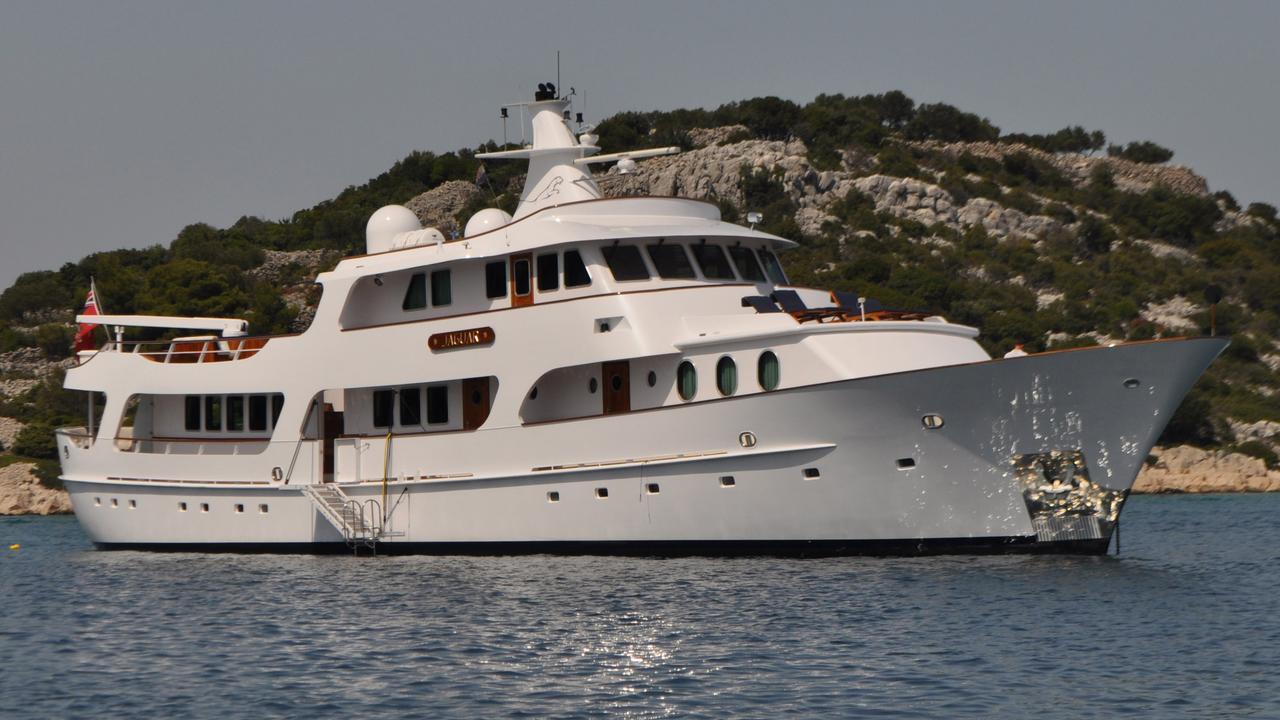 sea lion yacht  was  sea lion