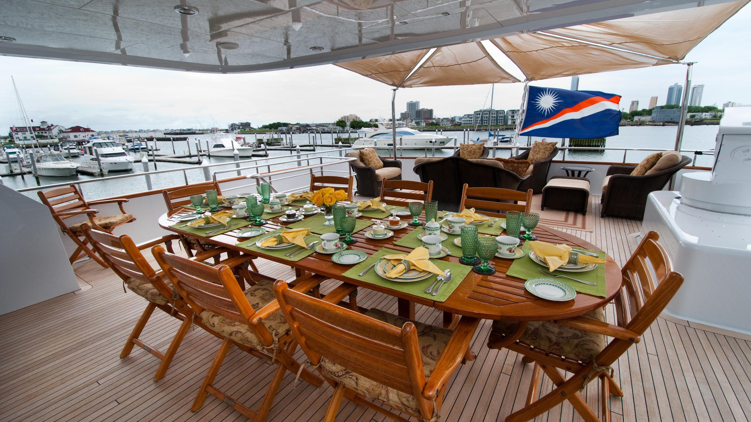 lady-m-yacht-bridge-deck-dining