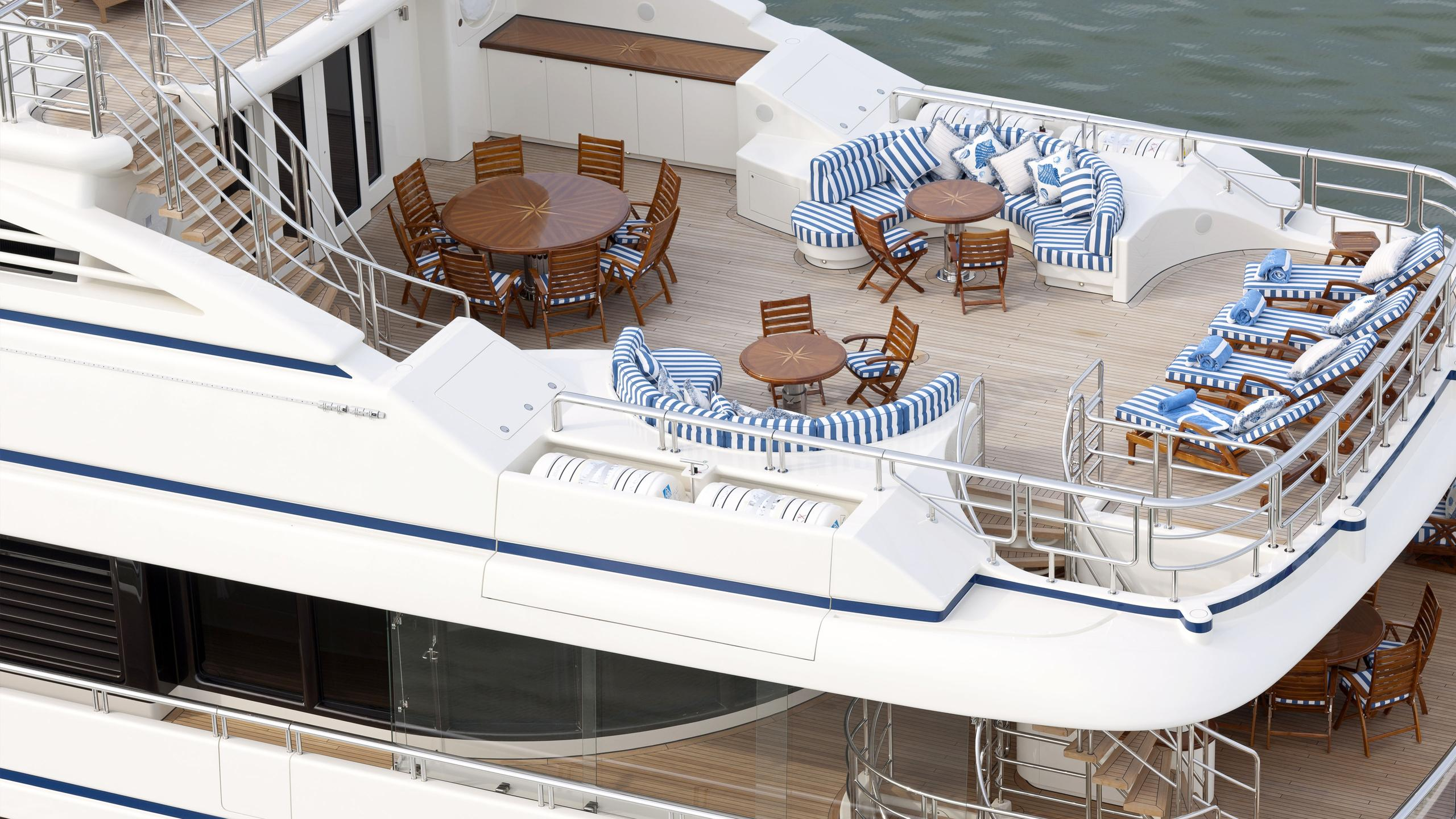 lady-kathryn-v-yacht-aerial-aft