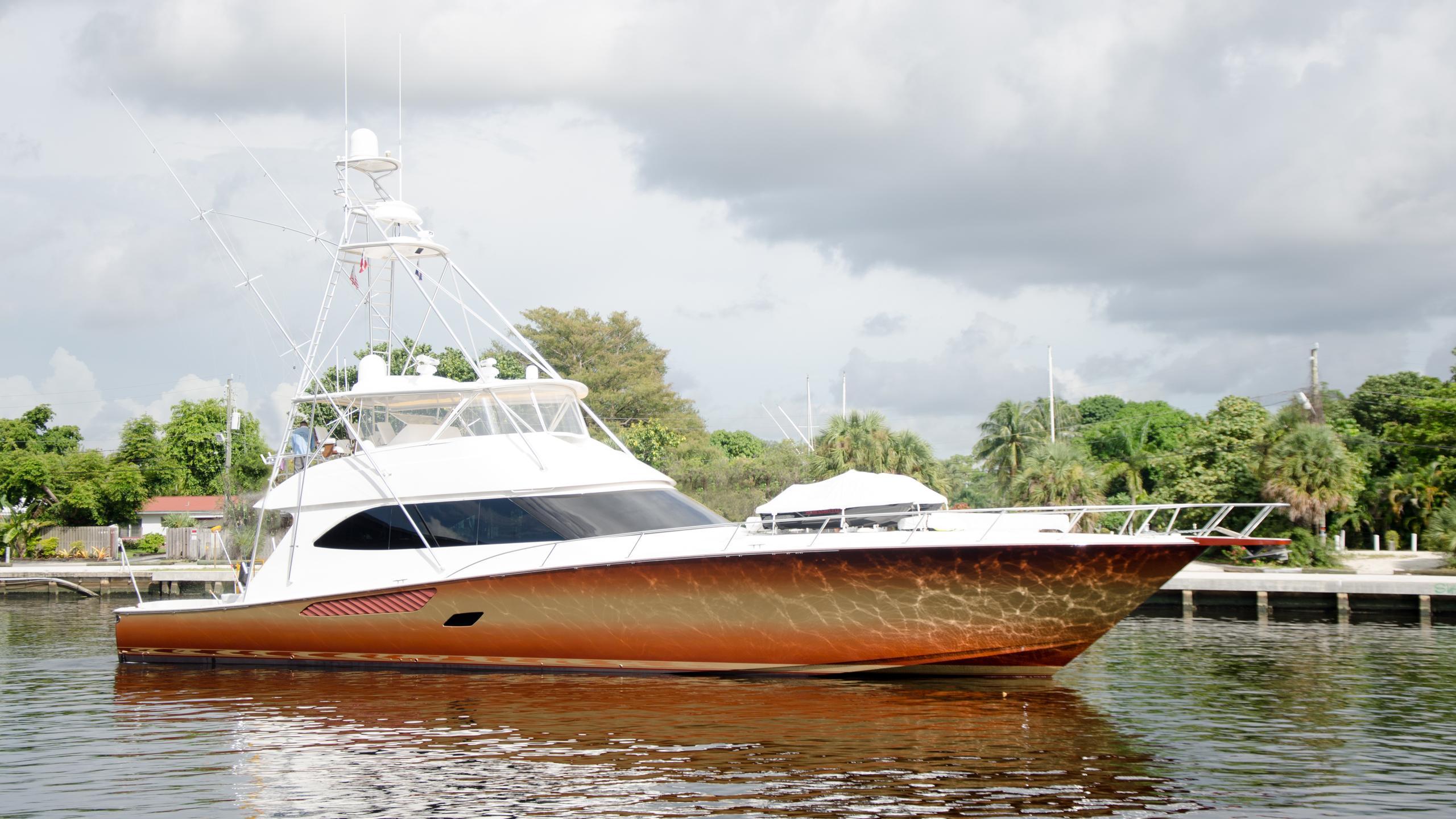 mustang sally sea duce sportfish motoryacht viking 82 2009 25m profile pre-refit