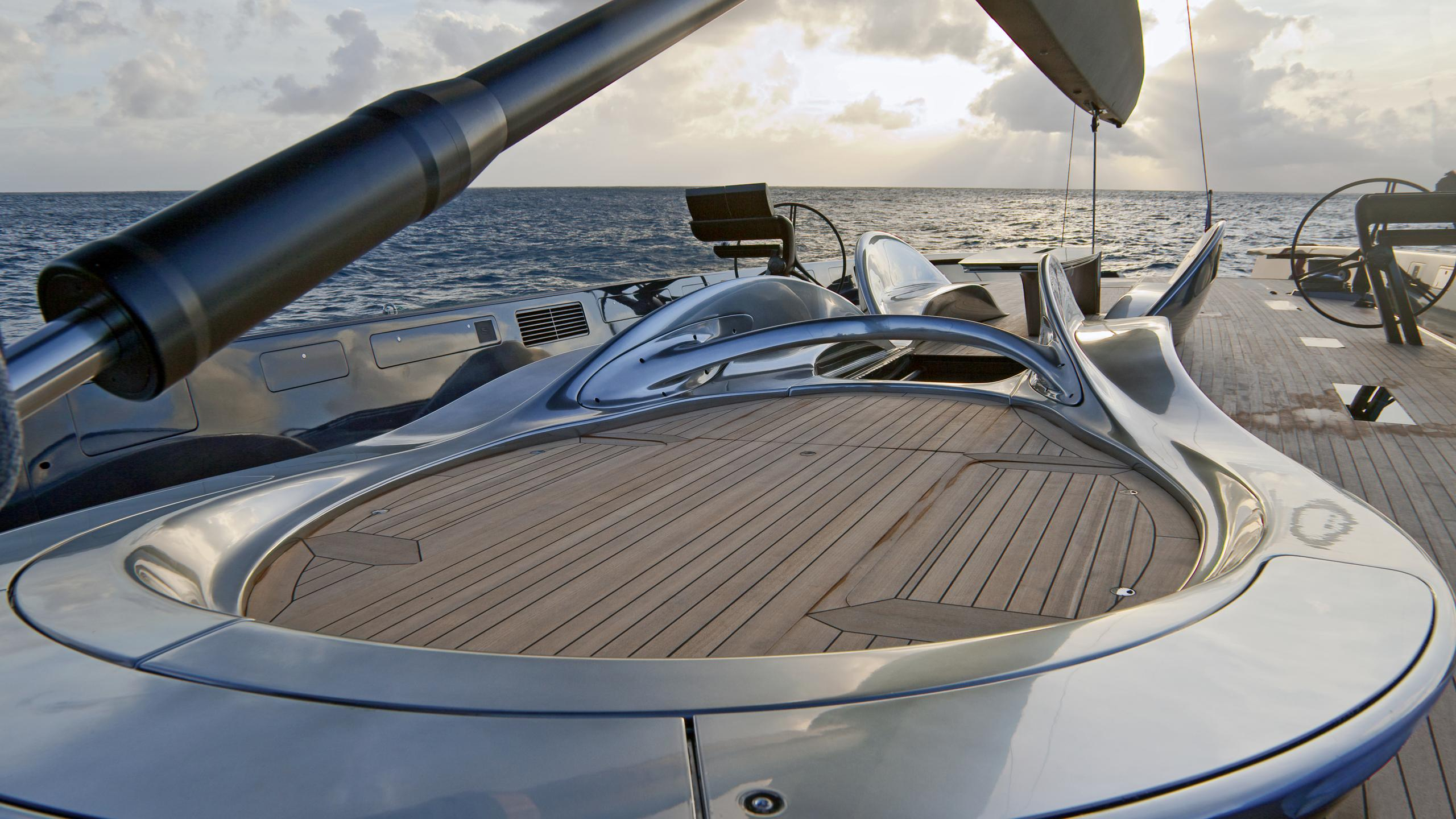 black sails angels share dream sailing yacht wally 40m 2009 cockpit