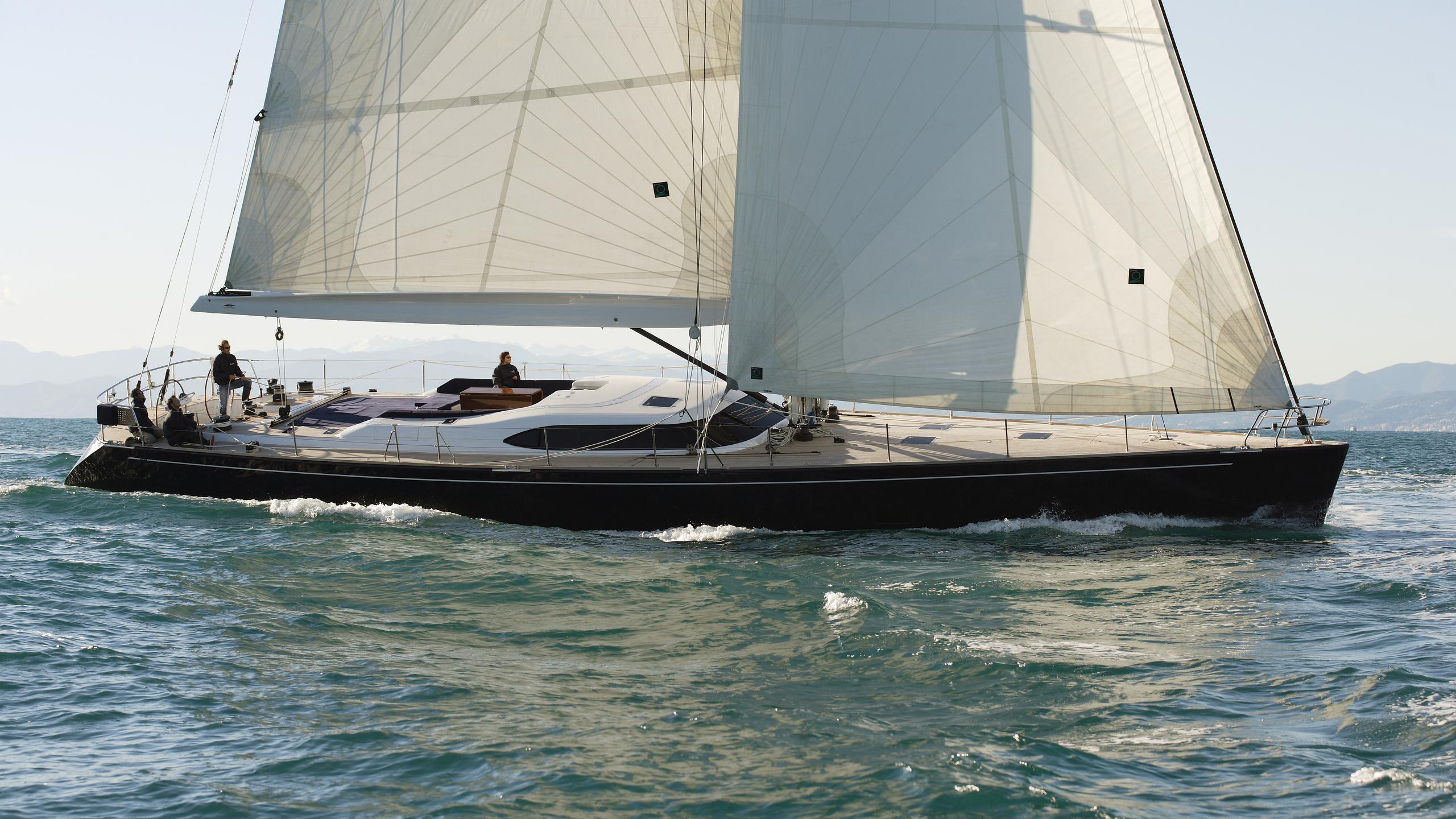 si vis pacem sailing yacht southern wind shipyard 24m 2005 profile