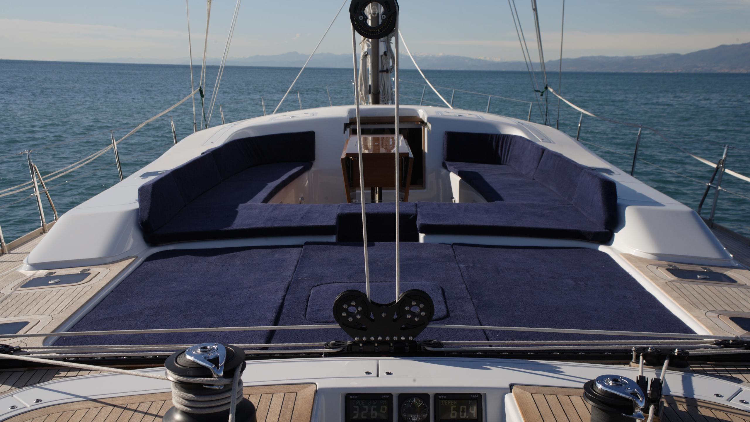 si vis pacem sailing yacht southern wind shipyard 24m 2005 cockpit