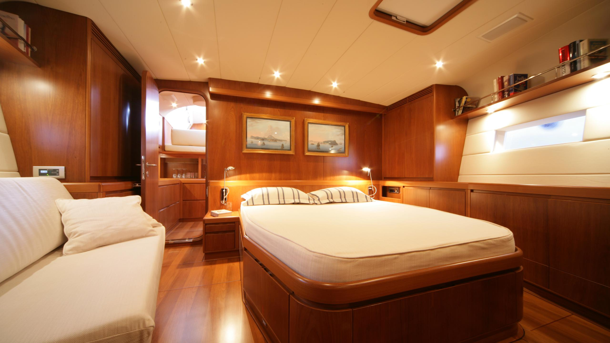 si vis pacem sailing yacht southern wind shipyard 24m 2005 master