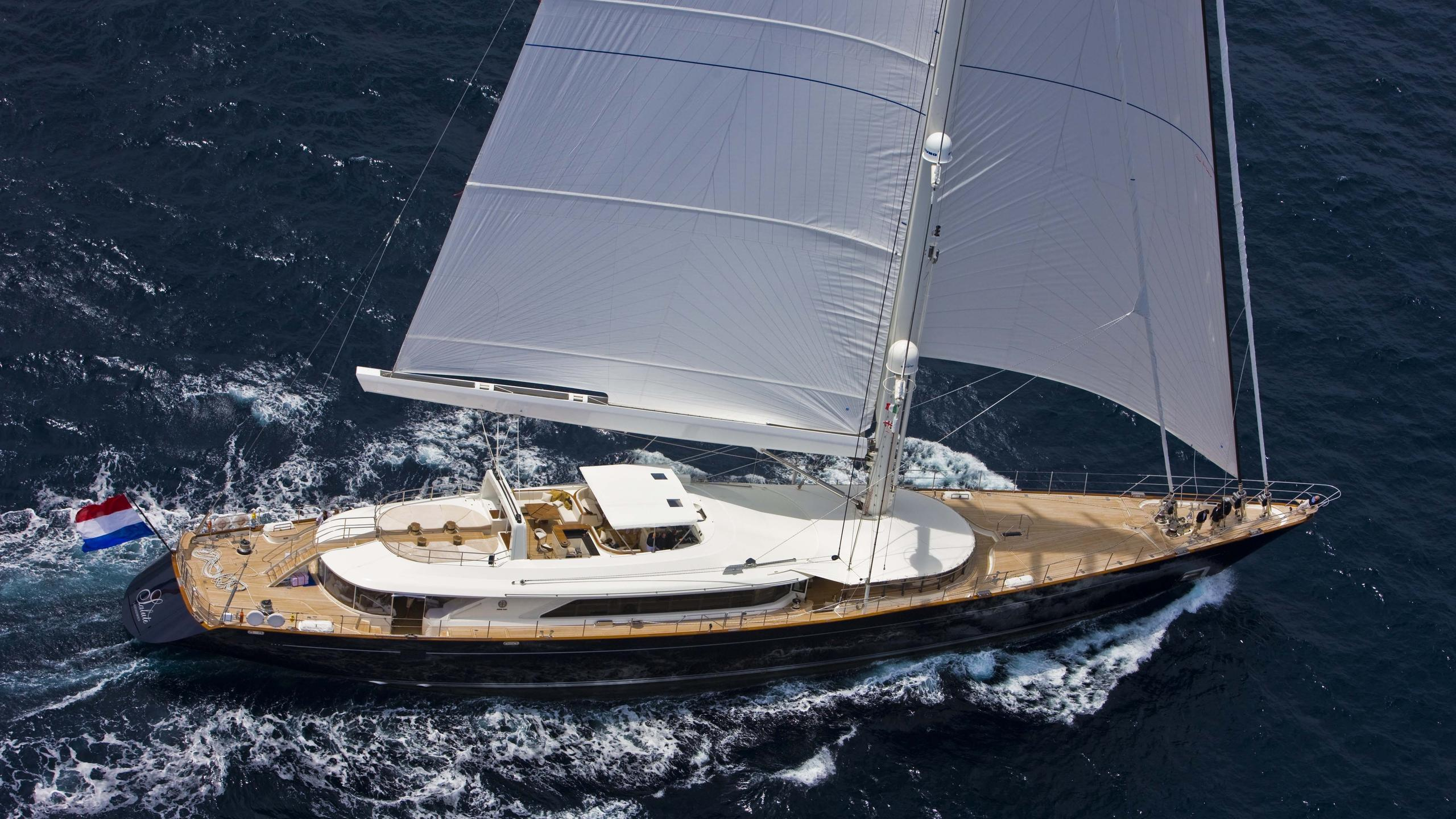 Salute-yacht-aerial-sailing