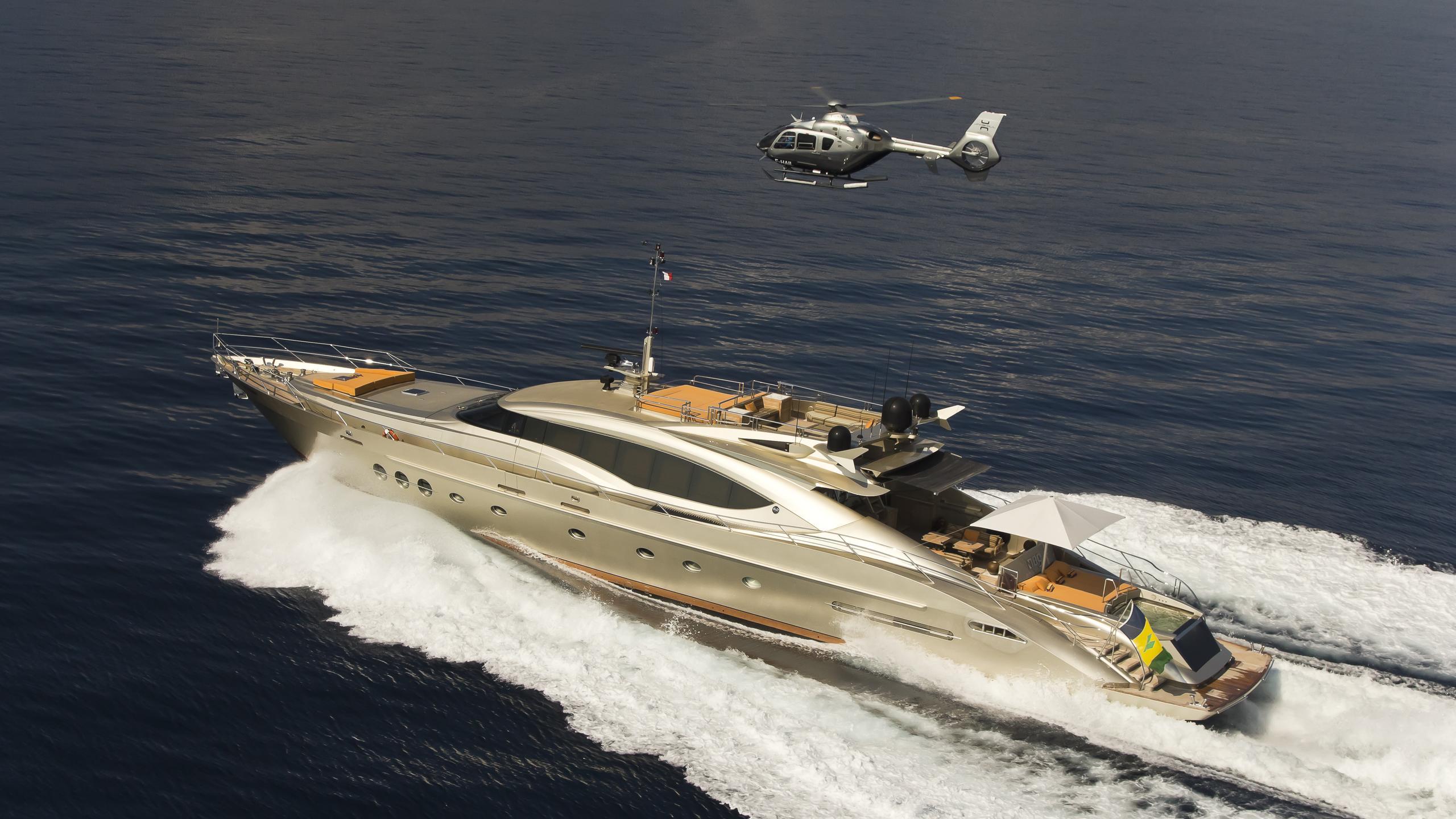 lucy ii db9 khalila motoryacht palmer johnson 120 37m 2005 profile after refit