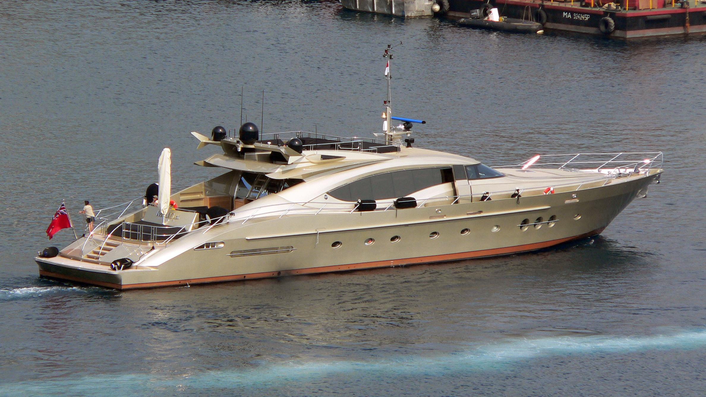 lucy ii db9 khalila motoryacht palmer johnson 120 37m 2005 profile before refit