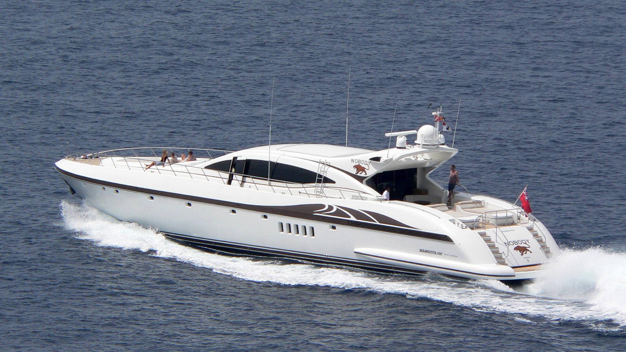 why not u nobody motoryacht overmarine 33m 2001 half stern