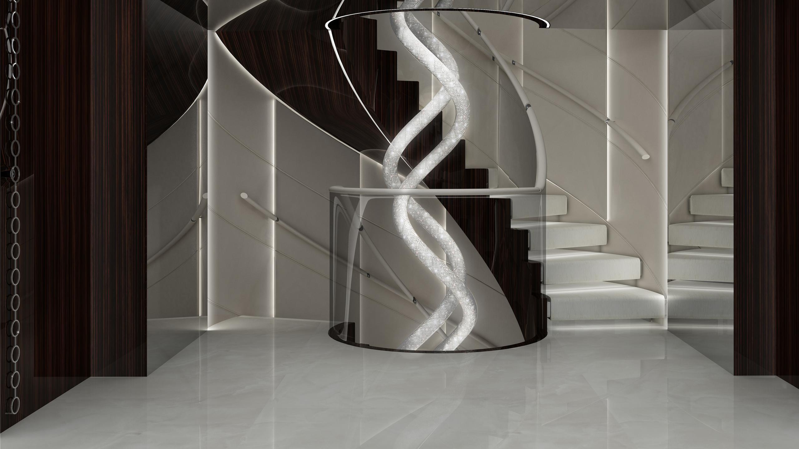 prince-shark-yacht-staircase