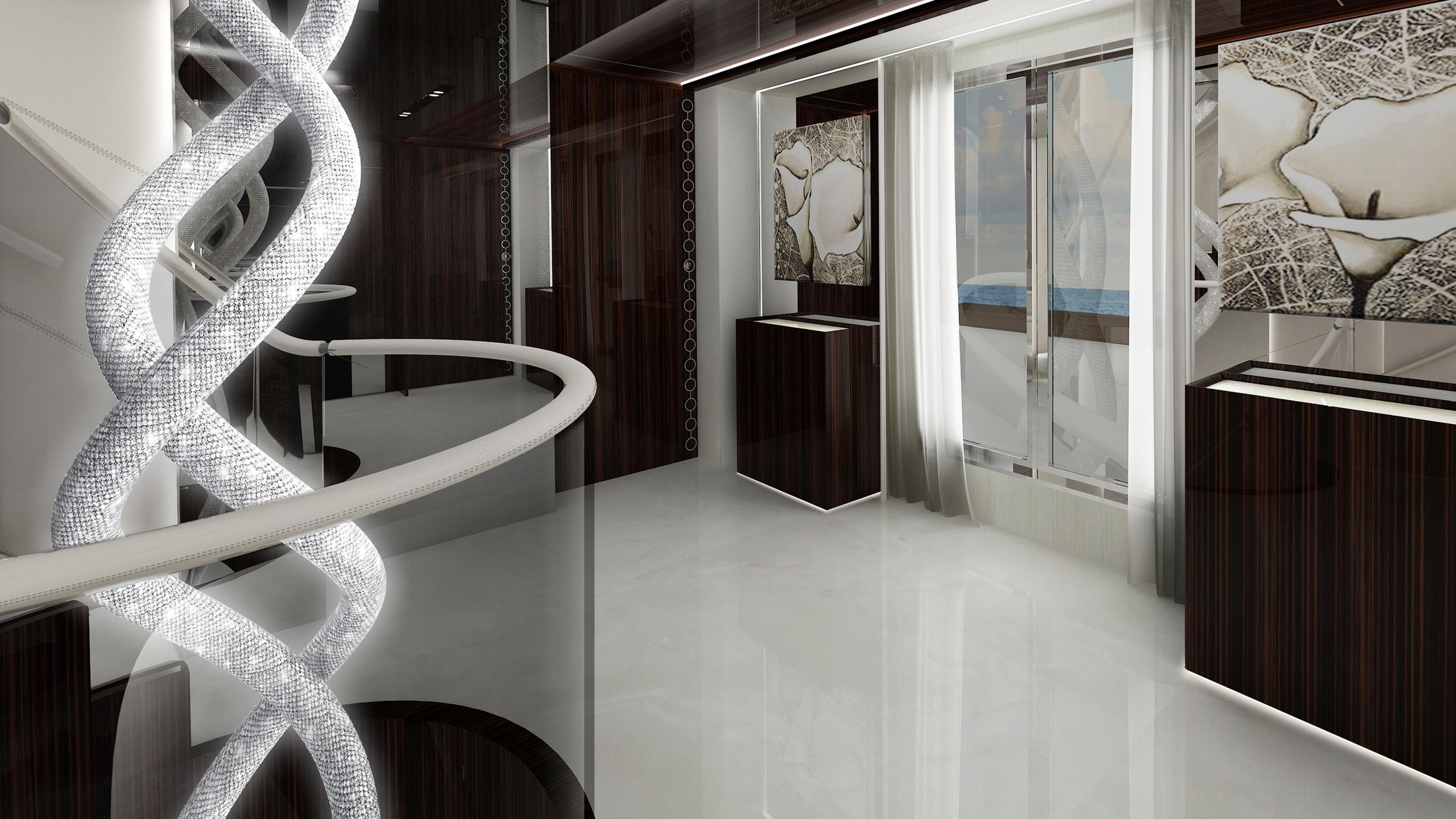 prince-shark-yacht-hallway