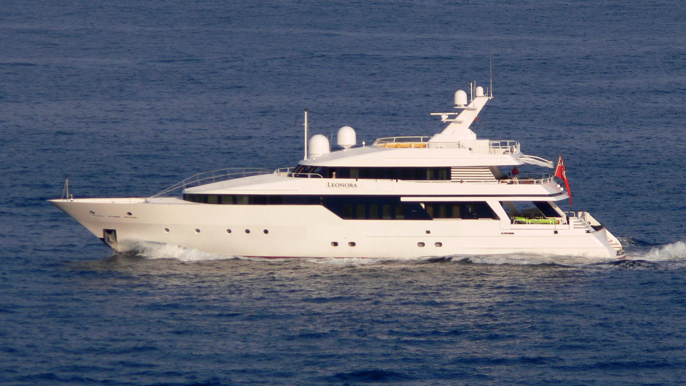 be mine motoryacht lurssen 1991 40m profile before refit