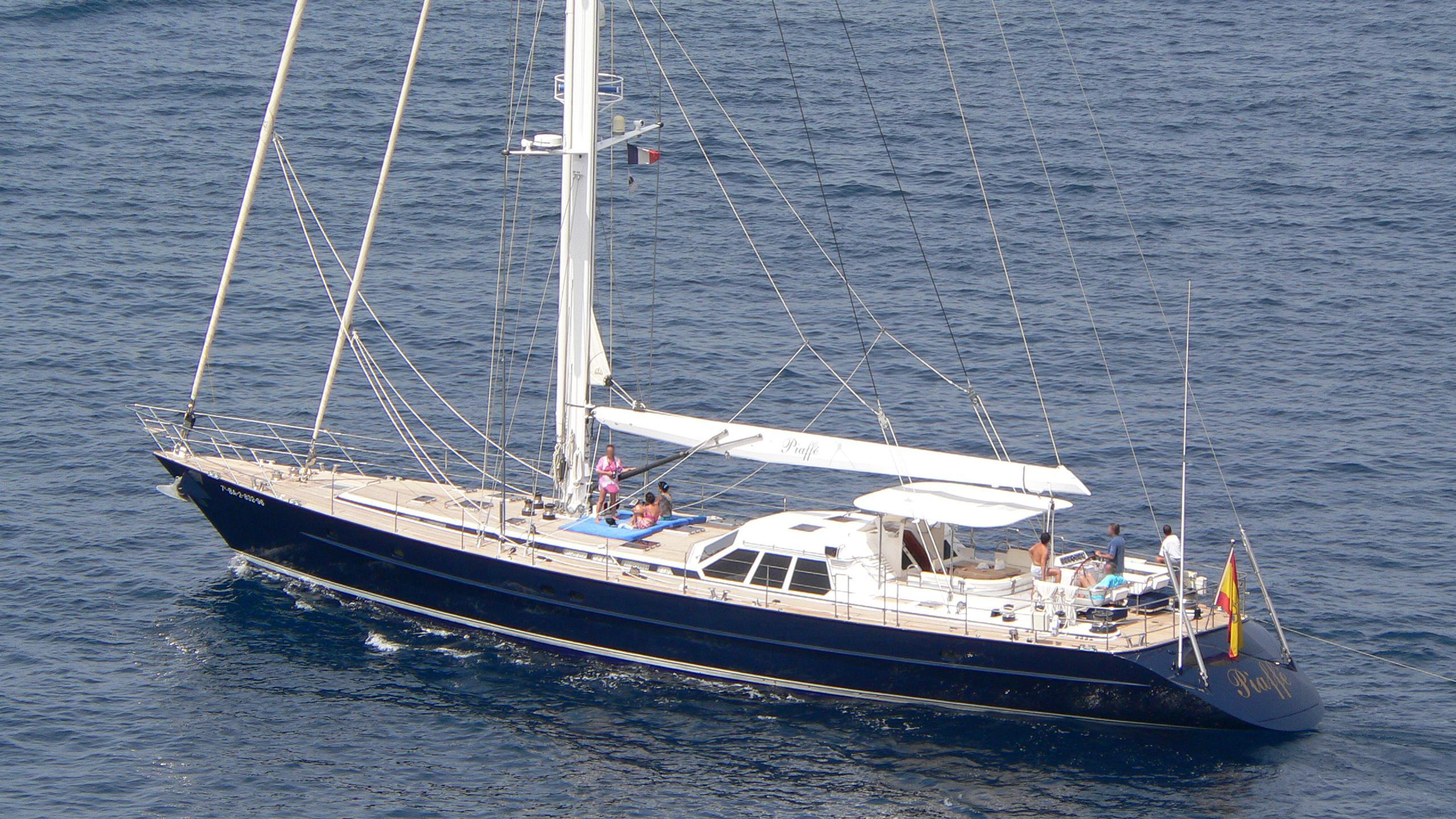alta marea ex piaffe sailing yacht jongert 29m 1991 half stern before 2008 refit