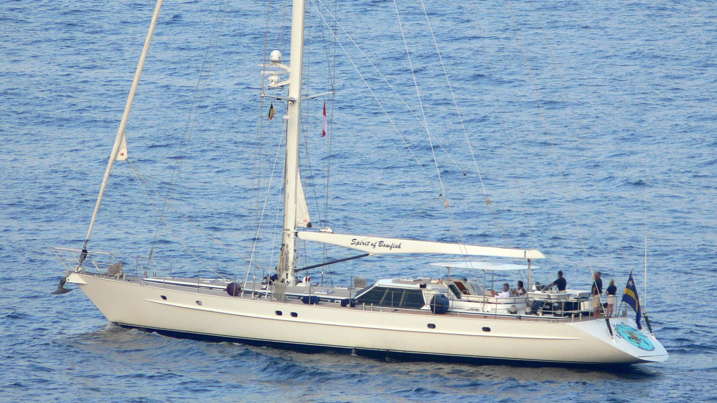 scorpius spirit of bowfish sailing yacht jongert 29m 1991 profile