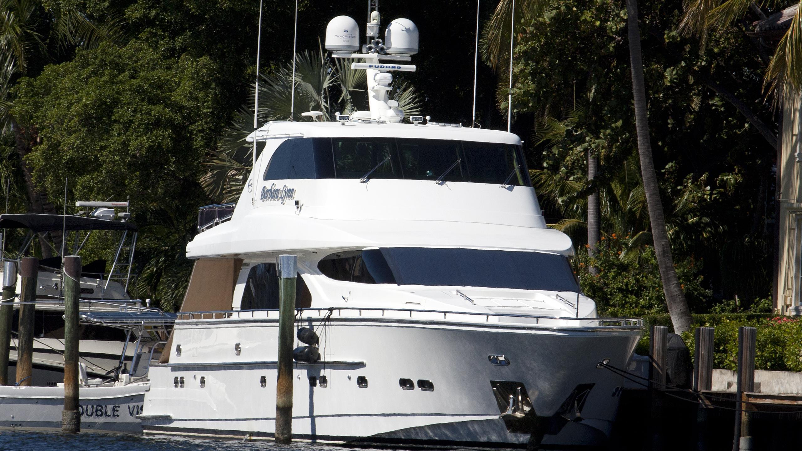 liberation pipe dreams barbara dreams lady b motoryacht horizon 25m 2008 bow