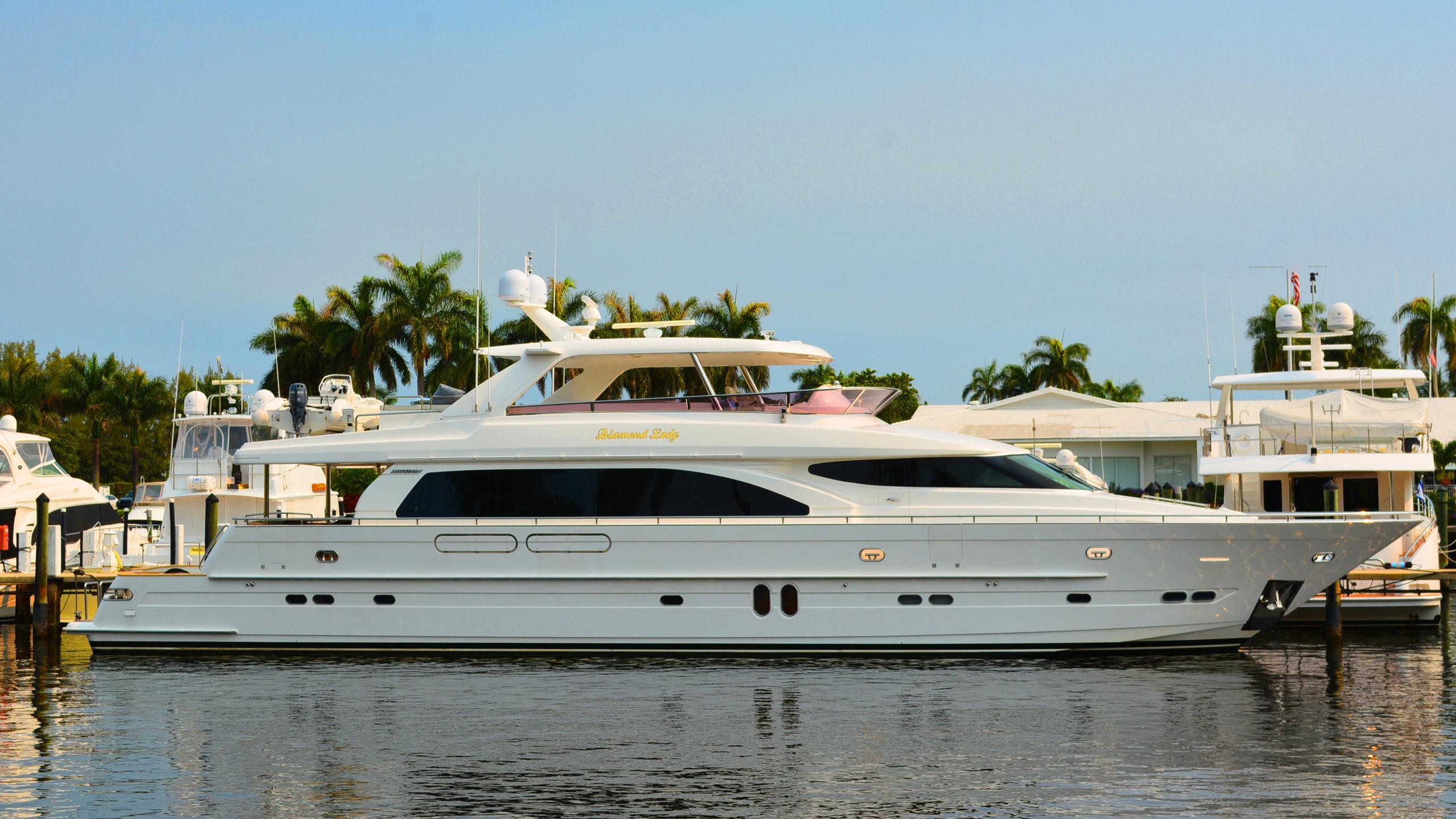 kentucky belle diamond lady motoryacht horizon 2004 29m profile